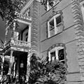 Calhoun Mansion Black And White by Lisa Wooten