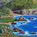 California Coastline by Amelie Simmons