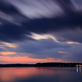 Calibogue Sound After Dark by Phill Doherty