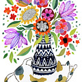 Calico Bouquet by Janet Broxon