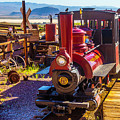 Calico Ghost Town Train by Garry Gay
