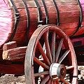 Calico Ghost Town Water Wagon by Barbara Snyder