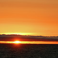Calif Sunset March 2011 by Ernie Echols