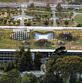 California Academy Of Sciences Living Roof In San Francisco by David Oppenheimer