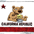 California Budget Begging by Daryl Cagle