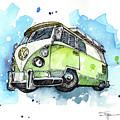 California Bus by Sean Parnell
