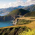 California Coast -  A View Of Bixby Ap by Dan Carmichael