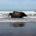 California Coast Ocean Waves 2 by Lydia Miller
