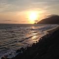 California Coast Sunset Pch Dunes by Lorie Stevens