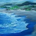 California Coastline Impressionism by Eric  Schiabor