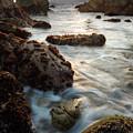 California Coastline Sunset, Pacific Grove, Ca  #40105-07-10 by John Bald