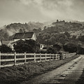 Northern California Country Road And Home by Donnie Whitaker
