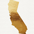 California Gold- Art By Linda Woods by Linda Woods