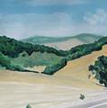 California Highway by Jackie MacNair