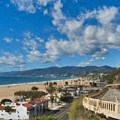 California Incline Palisades Park Ca by David Zanzinger