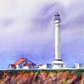 California Lighthouse Point Arena by Irina Sztukowski
