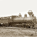 California Northwestern Railroad #30 4-6-0 Baldwin Locomotive Works Circa 1905 by California Views Archives Mr Pat Hathaway Archives