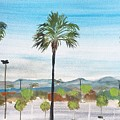 California Painting by Monika Howarth