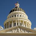 California State Capitol Cupola by Juan Romagosa
