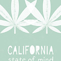 California State Of Mind- Art By Linda Woods by Linda Woods