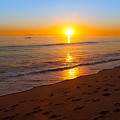 California Sunset by Melinda Fawver