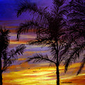 California Sunset by Olga Kaczmar