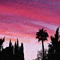 California Sunset Painting 2 by Teresa Mucha