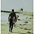California Surfer by Scott Pellegrin