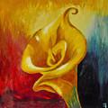 Calla Lilly Part B by  Fli Art