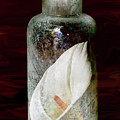Calla Lily In A Bottle by Phyllis Denton