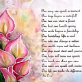 Callas   Poem by Karin  Dawn Kelshall- Best