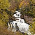 Callasaja Falls- North Carolina by Penny Lisowski