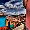 Calle De Colores by Skip Hunt