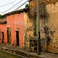 Calle En Suchitoto by Totto Ponce
