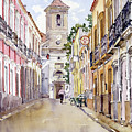 Calle Fuente Alhabia by Margaret Merry