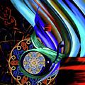 Calligraphy 107 3 by Mawra Tahreem