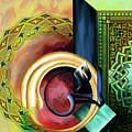 Calligraphy 123 3 by Mawra Tahreem