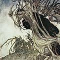Calling Shapes And Beckoning Shadows Dire by Arthur Rackham