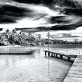 Calm At Boca Del Drago Panama by John Rizzuto