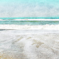 Calm Coast- Art By Linda Woods by Linda Woods