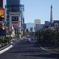Calm On Vegas Strip by Andrew Bassett