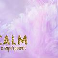 Calm Is A Super Power by Ramona Murdock