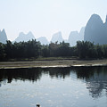 Calm On The Li River by Gloria & Richard Maschmeyer - Printscapes