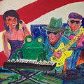 Calogs Frog Blues Band by James Christiansen