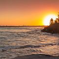 Caloundra Beach Sunset by Jukka Heinovirta