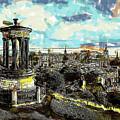 Calton Hill Edinburgh by Dean Wittle