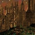 Calvino's Night...after Van Eyck by Paul Sutcliffe