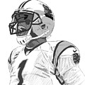 Cam Newton by Johnathan Horne