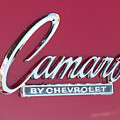 Camaro Emblem By Chevrolet by J Darrell Hutto