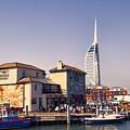 Camber Dock, Old Portsmouth by Ann Garrett
